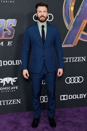 Chris Evans world premiere of Avengers Endgame (April 22, 2019)