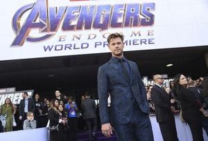 Chris Hemsworth (Thor) @Avengers Endgame L.A. Premiere