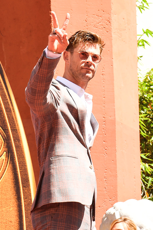 Chris Hemsworth at 'Avengers Endgame' Cast Handprints Ceremony, Los Angeles (April 23, 2019)