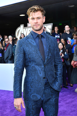 Chris Hemsworth at the Avengers: Endgame World Premiere in Los Angeles (April 22nd, 2019)
