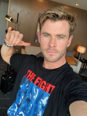 Chris Hemsworth for The Solutions Project