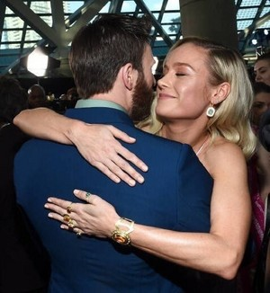 Chris and Brie at the Avengers: Endgame World Premiere in Los Angeles (April 22nd, 2019)