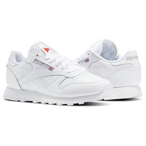 Classic White Leather Reeboks
