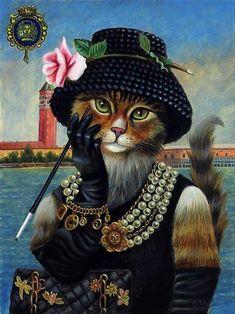 Classy Kitty