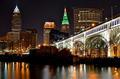 Cleveland At Night