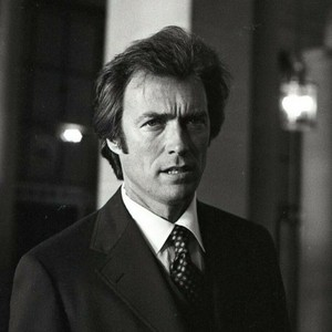 Clint Eastwood (candids on the set of Dirty Harry)