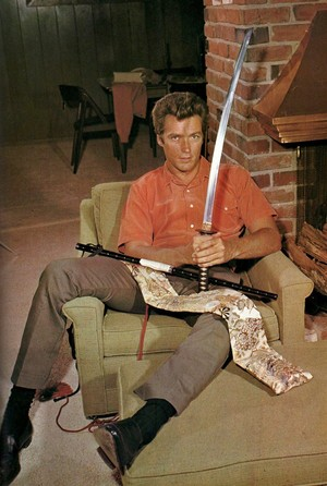 Clint Eastwood photographed at Home (1960s)