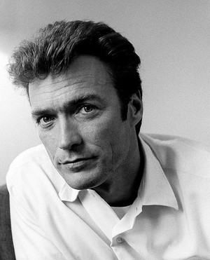 Clint Eastwood photographed by Terry Fincher in London (1969)