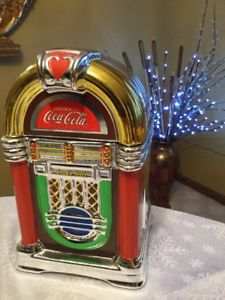Coca Cola Jukebox Cookie. Jar