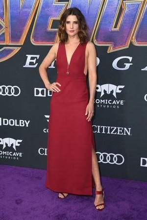 Colbie Smulders (Maria Hill) @Avengers Endgame L.A.Premiere