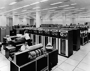 Computer Mainframe In 1960