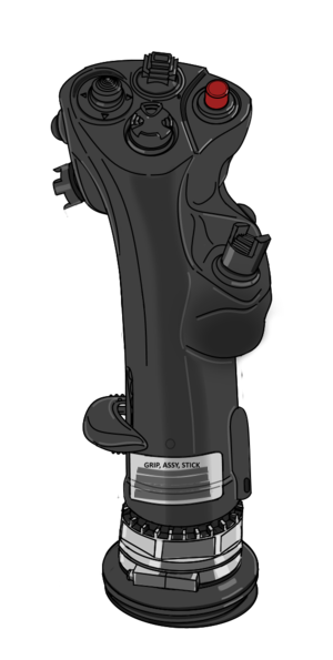 Control stick (Right) for VFH-10 Auroran AGAC