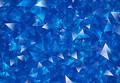 Crystal. Blue