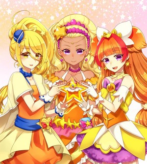 Cure Etoile, Cure Soleil and Cure Twinkle
