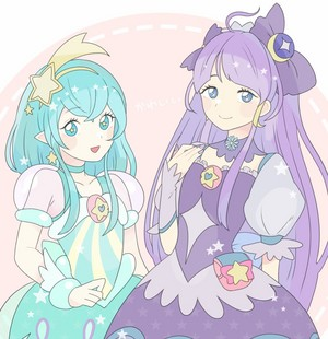 Cure Milky and Cure Selene