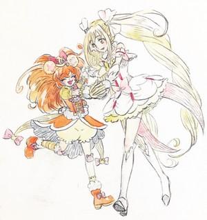 Cure Mofurun and Cure Echo