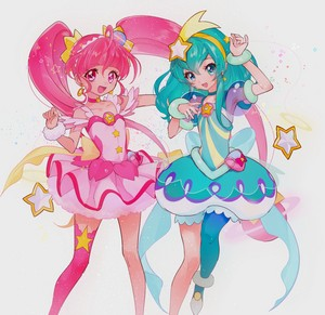 Cure 星, つ星 and Cure Milky