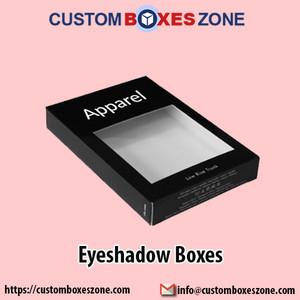 Customized Eyeshadow Boxes Wholesale