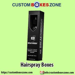 Customized হেয়ারস্প্রে Packaging Boxes Wholesale