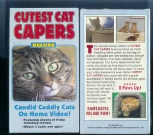 Cutest Cat Capers On cassette vidéo, vidéocassette