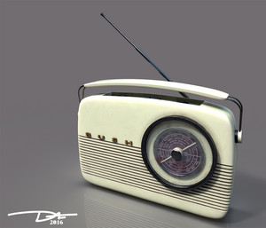 DS R Bush Radio