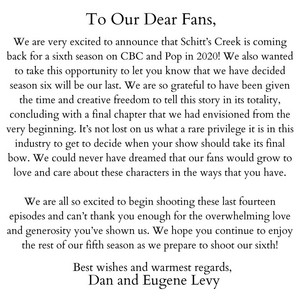 Dan and Eugene's Message To Fans