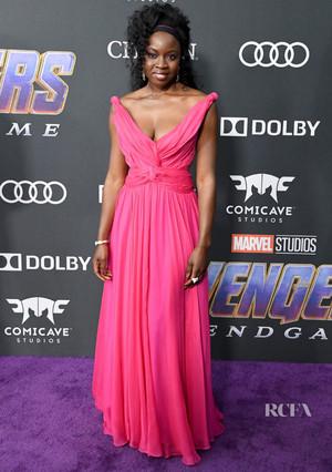 Danai Gurira (Okoye) @Avengers Endgame L.A.Premiere