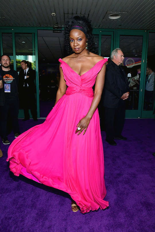 Danai Gurira at the Avengers: Endgame World Premiere in Los Angeles (April 22nd, 2019)