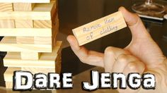 Dare jenga game