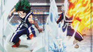 Deku and Todoroki
