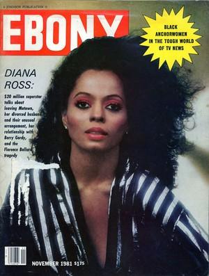 Diana Ross On The Cover Of Ebony