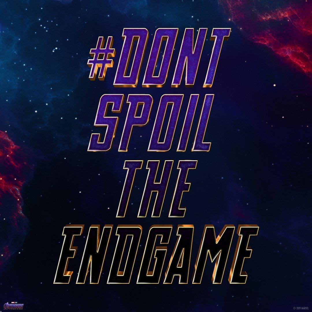 Don't Spoil the Endgame