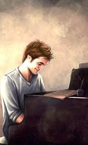 Edward On Pianoforte