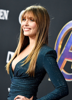 Elizabeth Olsen at the Avengers: Endgame World Premiere in Los Angeles (April 22nd, 2019)