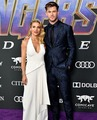 Elsa Pataky and Chris Hemsworth at the Avengers: Endgame World Premiere in Los Angeles (April 22nd) - the-avengers photo