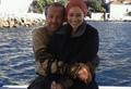 Emilia and Iain Glen  - emilia-clarke photo