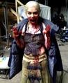 Emilia behind the scenes of GoT - emilia-clarke photo