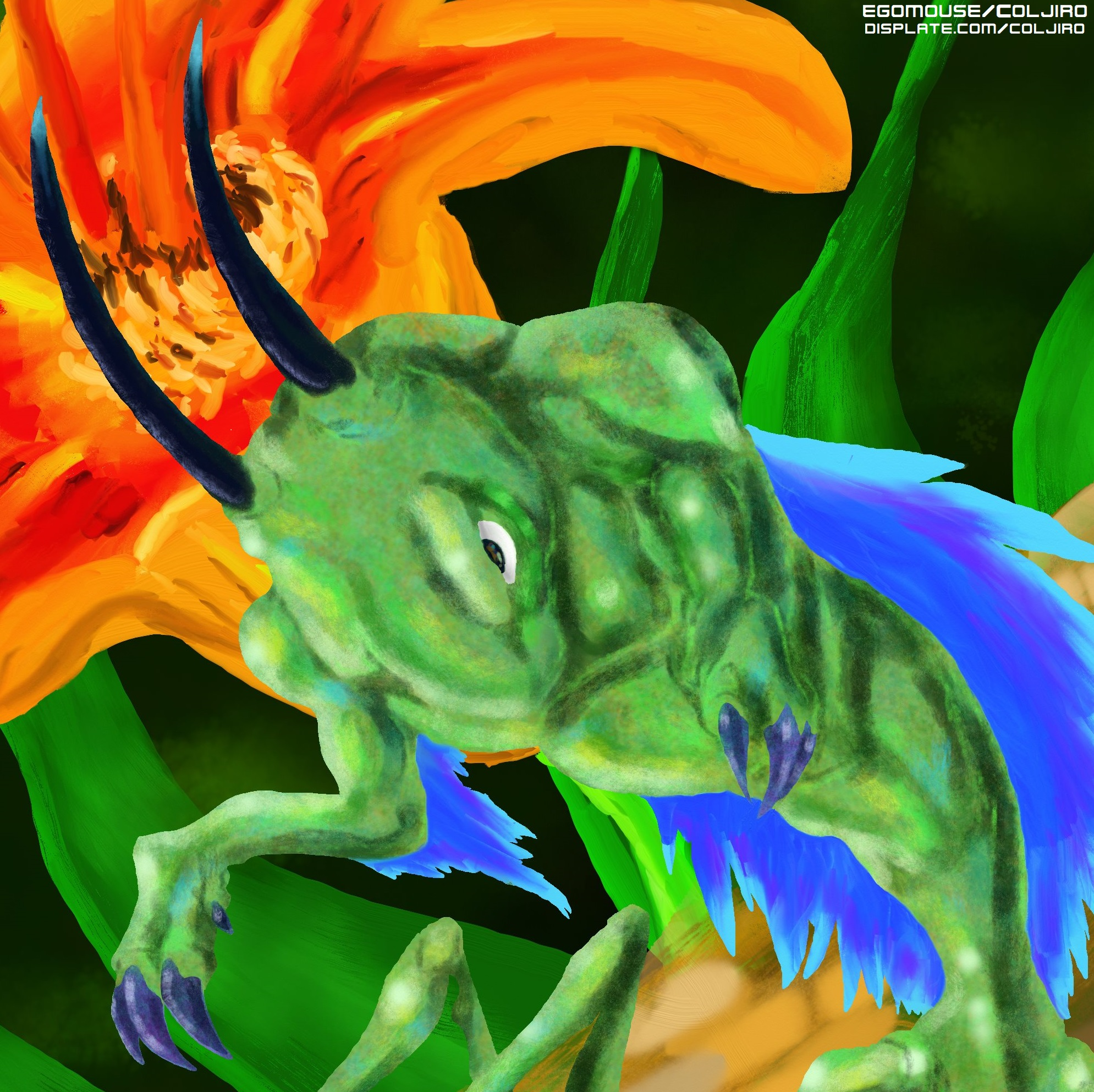 Feathered Mantis