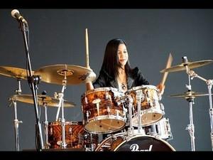 Femme Drummer