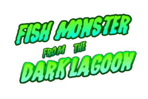 peixe Monster from the Dark Lagoon (Logo)