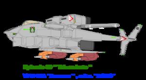 Fixed wing mode-A VFH-10 Auroran AGAC