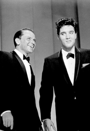 Frank and Elvis