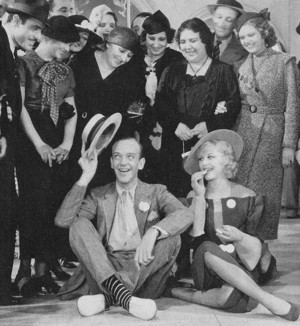फ्रेड Astaire and Ginger Rogers