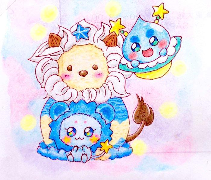 Fuwa and Prunce