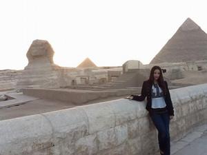 GIZA EGYPT Liebe U LYNDA THALIE