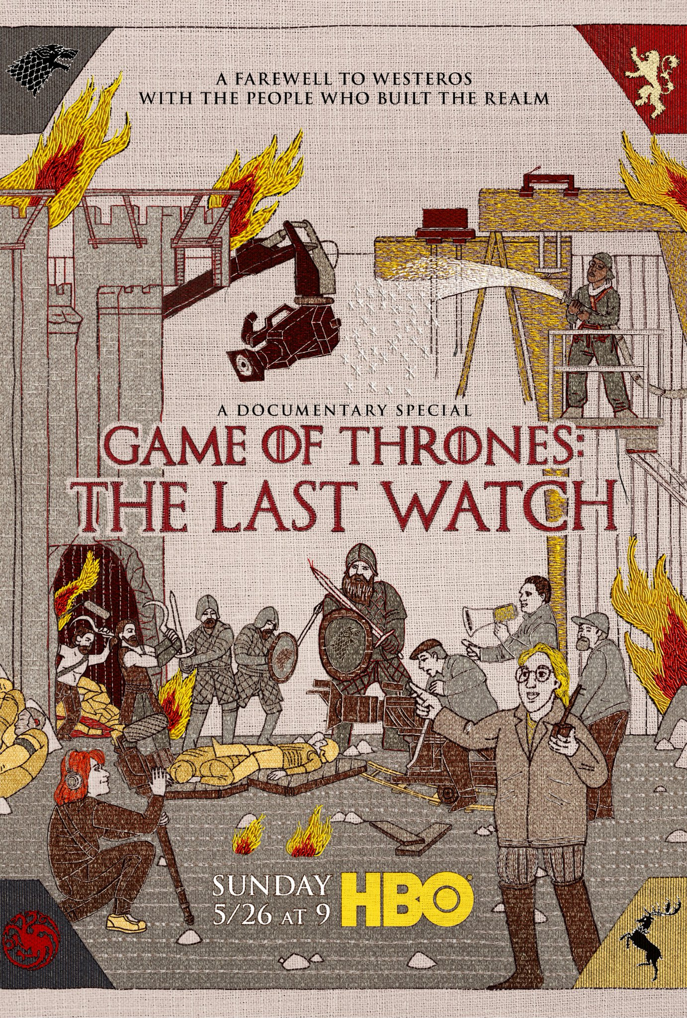 Game of Thrones: The Last Watch - Documentary Poster