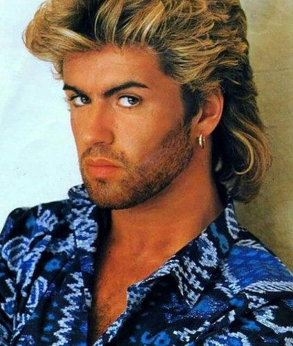 80's music wallpaper called George Michael