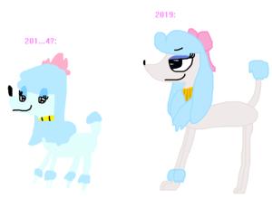 Georgette (2014 VS 2019)