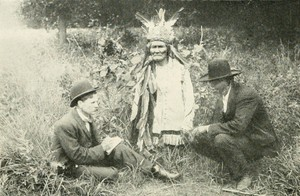 Geronimo (Goyaałé) with Stephen M. Barrett and Asa Adklugie
