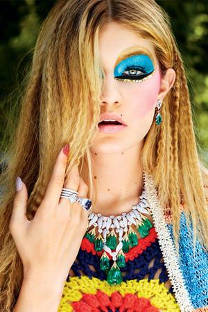 Gigi ~ Harper's Bazaar US (2014)